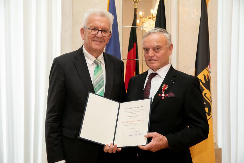 Bundesverdienstkreuz für Herbert Keil (FOGE)